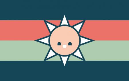 Dyslexialands flagga